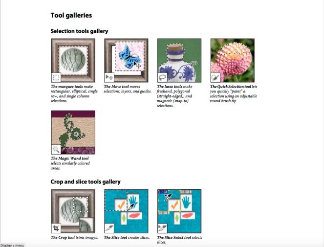 Tool Galleries 1